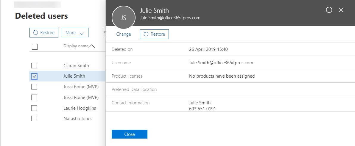 Remove-AzureADMSDeletedDirectoryObject Archives - Office 365