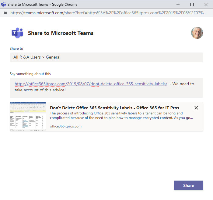 Teams Archives - Office 365 for IT Pros