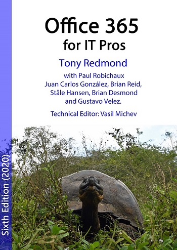 Office 365 for IT Pros Book Cover